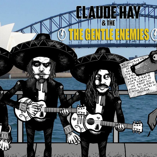 Zwarte Crosser Claude Hay & The Gentle Enemies